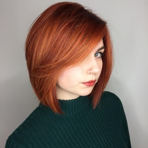 38 Short Hairstyles With Bangs That Are Just Brilliant For Favorite Cropped Tousled Waves And Side Bangs (View 2 of 15)