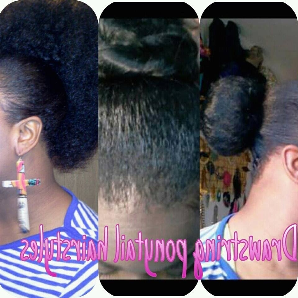 4 Different Hairstyles Using Drawstring Ponytail – Youtube In Favorite Mohawk With Double Bump Hairstyles (View 1 of 15)