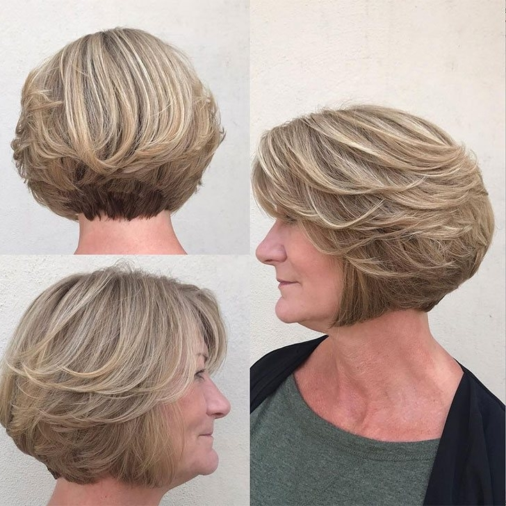 40 Best Short Hairstyles For Women Over 60 With Regard To Well Known Brunette Pixie With Feathered Layers (View 5 of 15)