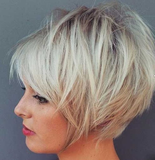 47 Amazing Pixie Bob You Can Try Out This Summer! With Most Popular Stacked Pixie Haircuts With V Cut Nape (View 3 of 15)