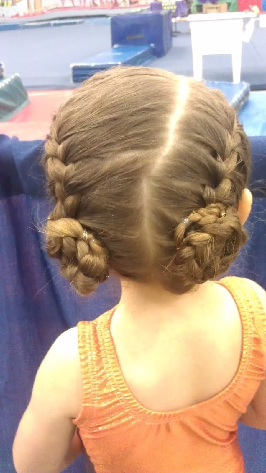 4xfaithful: Braids, Buns, & Bows – Oh My! (part Two) With Famous French Braids Into Braided Buns (View 13 of 15)