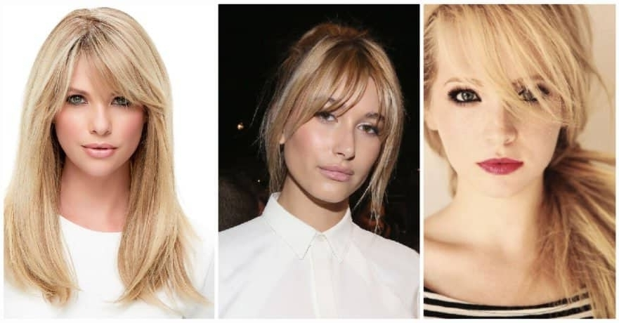 50 Fresh Hairstyle Ideas With Side Bangs To Shake Up Your Style With Well Liked Cropped Tousled Waves And Side Bangs (View 3 of 15)