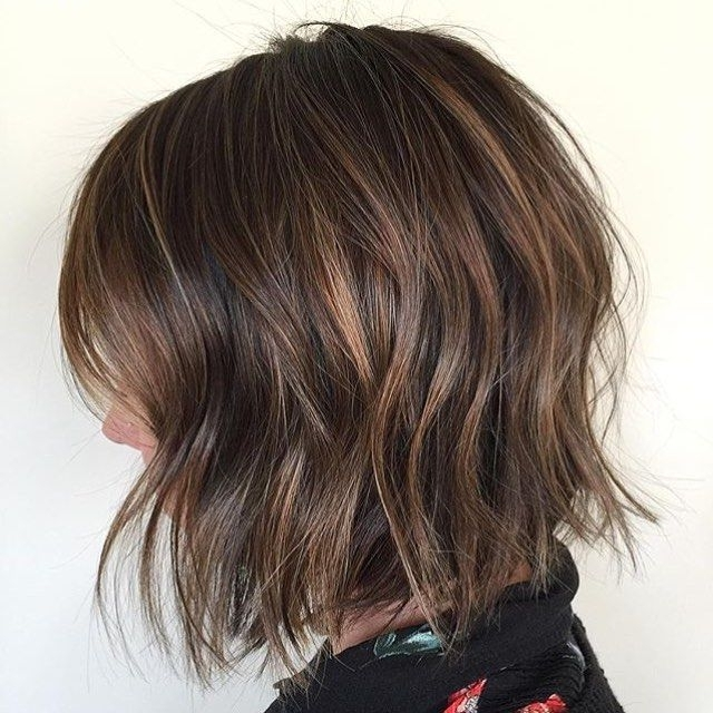 50 Hottest Balayage Hairstyles For Short Hair – Balayage Hair Color Throughout Latest Shaggy Pixie Haircuts With Balayage Highlights (View 3 of 15)