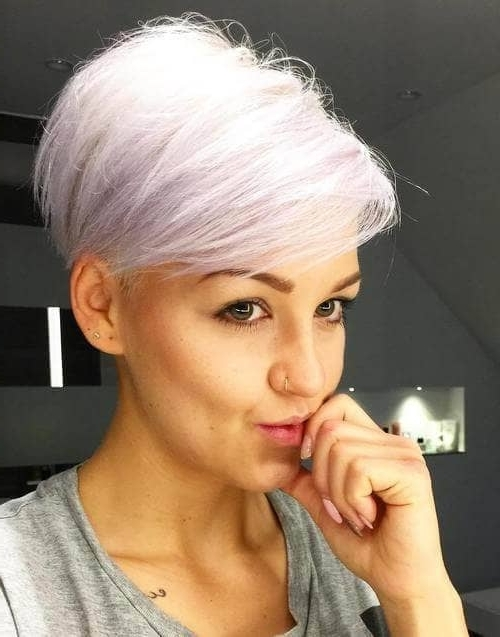 50 Pixie Haircuts You'll See Trending In 2018 With Popular Contemporary Pixie Haircuts (View 3 of 15)