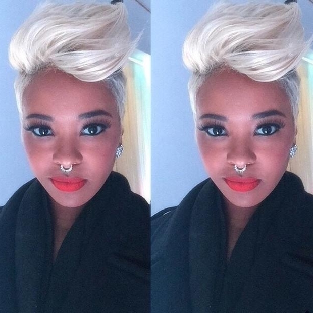 50 Short Hairstyles For Black Women (View 6 of 15)