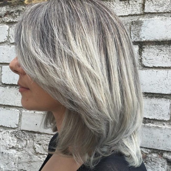 50 Stunning Silver Ombre Hair Ideas — Precious Locks Intended For Popular Reverse Gray Ombre For Short Hair (View 5 of 15)