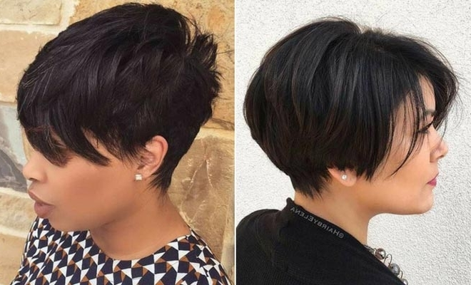 51 Best Short And Long Pixie Cuts We Love For (View 2 of 15)