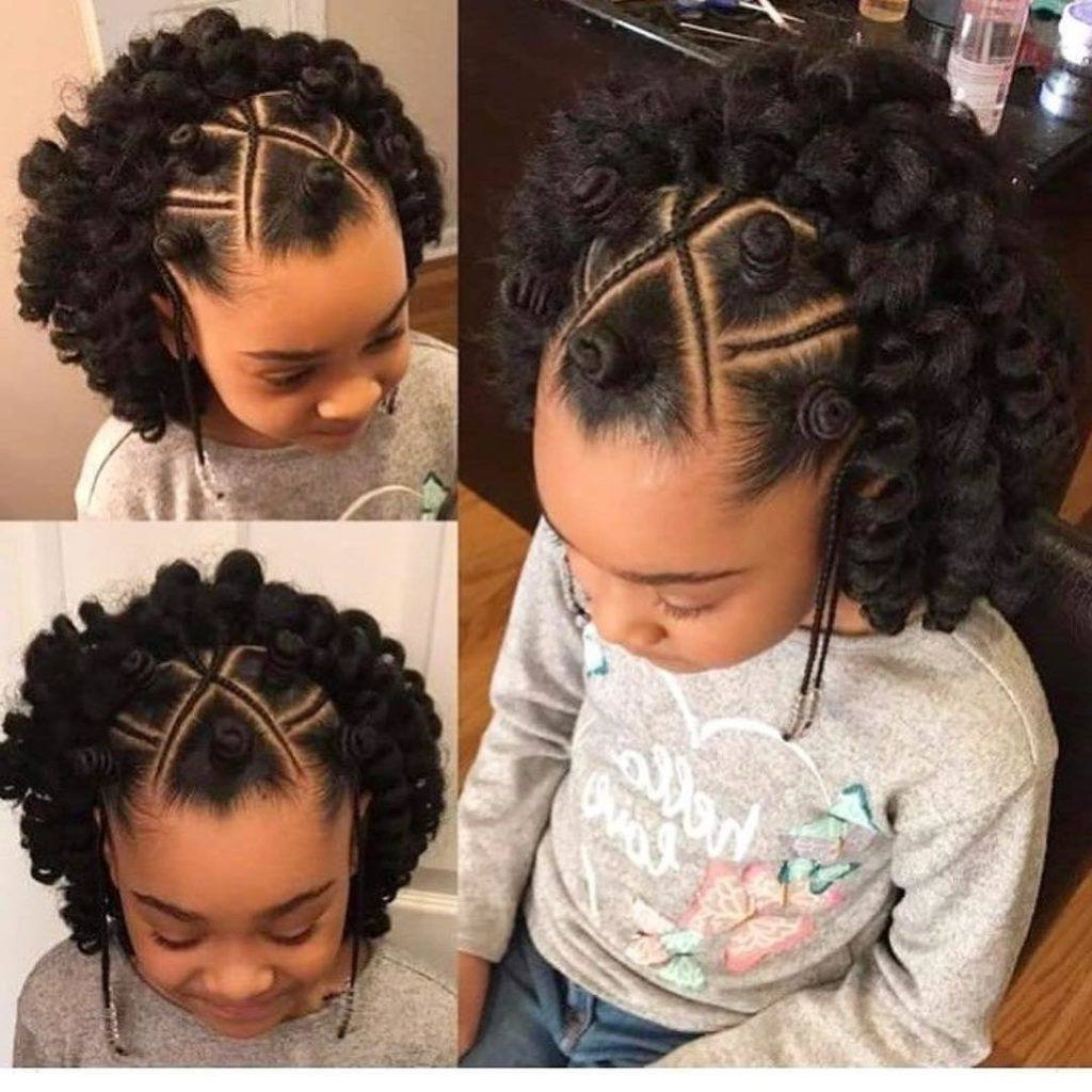 6 Braids Hairstyles For Kids That Will Look Amazing On Your Daughter Intended For Famous Cornrows Hairstyles For Little Girl (View 3 of 15)