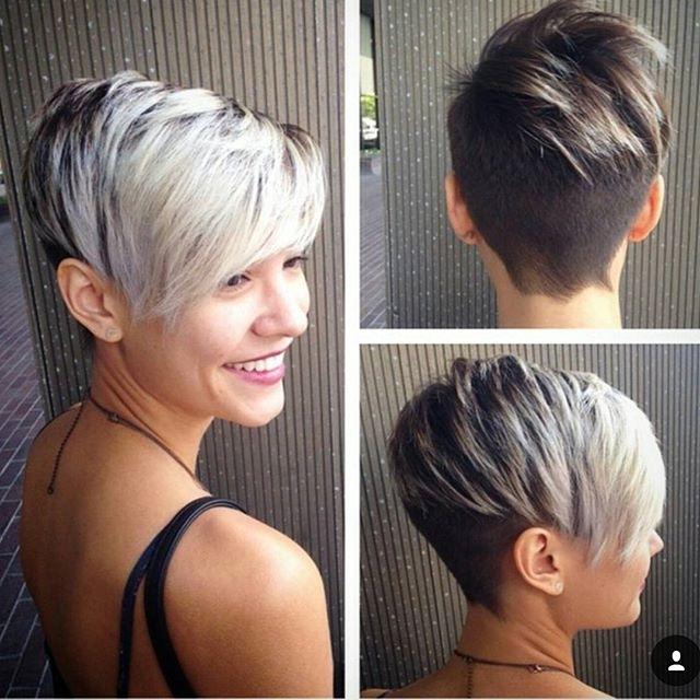 60 Cool Short Hairstyles & New Short Hair Trends! Women Haircuts 2017 Throughout Current Shaggy Pixie Haircuts In Red Hues (View 8 of 15)