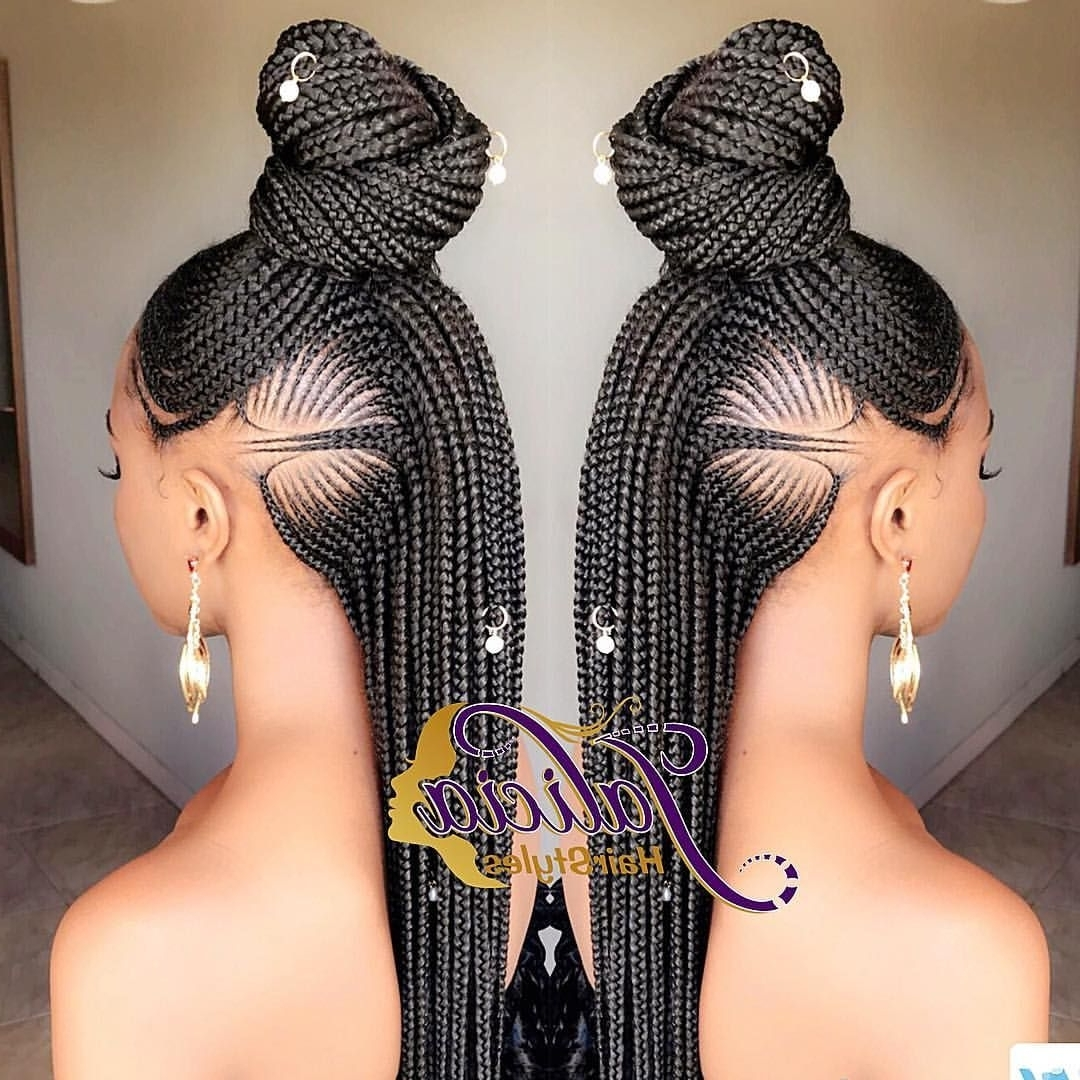 Featured Photo of Jalicia Cornrows Hairstyles