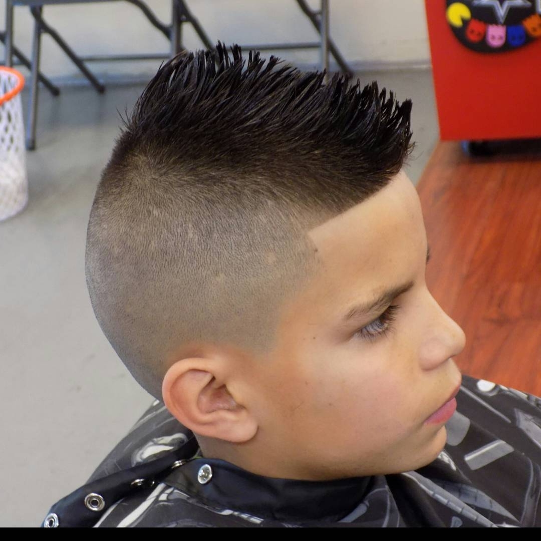 70 Amazing Sexy Faux Hawk Fade Haircuts – (New In 2018) In Recent Mohawk With Double Bump Hairstyles (Gallery 10 of 15)