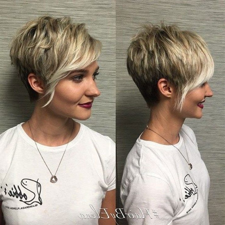 70 Best Short Hairstyles And Short Haircuts Ideas For 2018 With Regard To Widely Used Short Choppy Side Parted Pixie Haircuts (View 3 of 15)