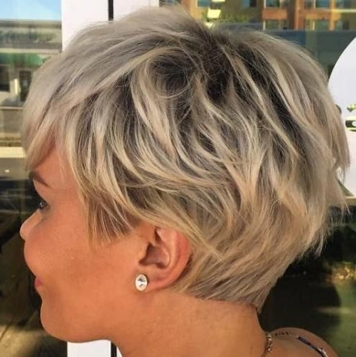 70 Short Shaggy, Spiky, Edgy Pixie Cuts And Hairstyles (Gallery 5 of 15)