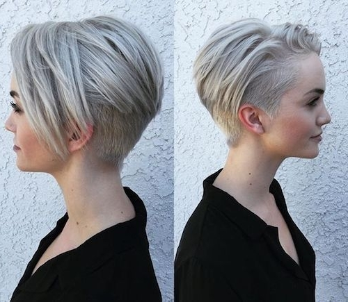 89 Of The Best Hairstyles For Fine Thin Hair For 2018 For Most Up To Date Asymmetrical Long Pixie For Round Faces (View 12 of 15)