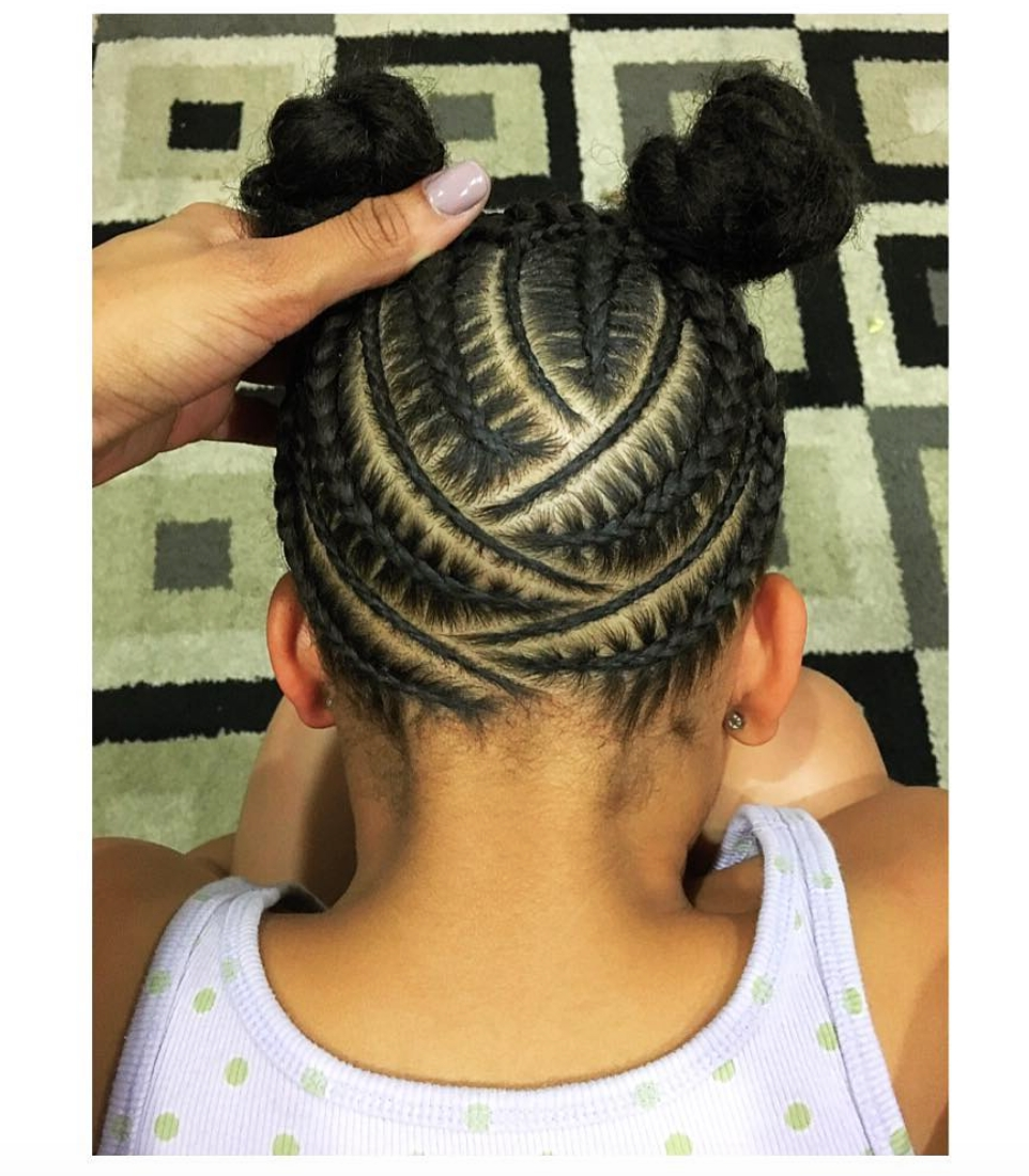 Adorable@nisaraye – Http://community.blackhairinformation Regarding Latest Revamped Braided Ponytail (Gallery 7 of 15)
