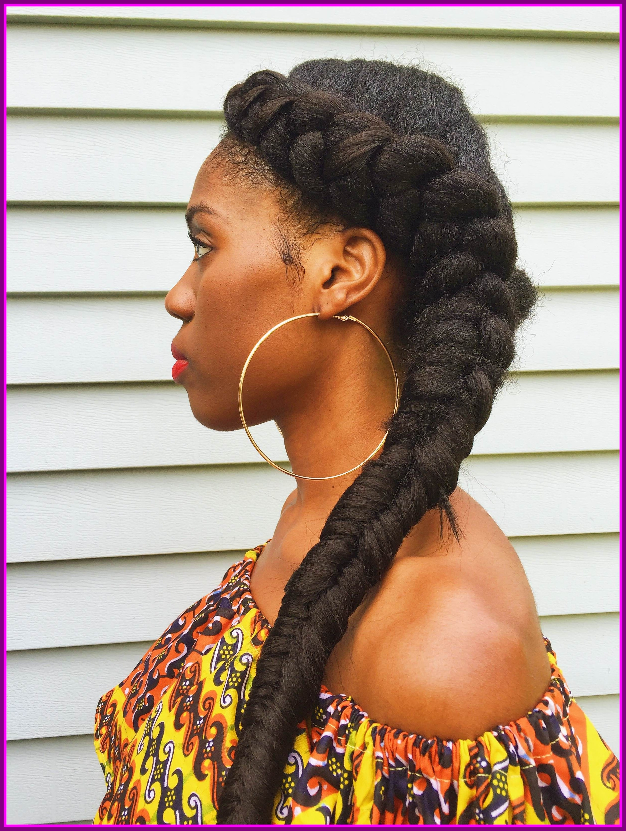Astonishing A New Hairstyle For Long Hair Crown African Pict Site Inside Latest Black Crown Braid Hairstyles (View 13 of 15)
