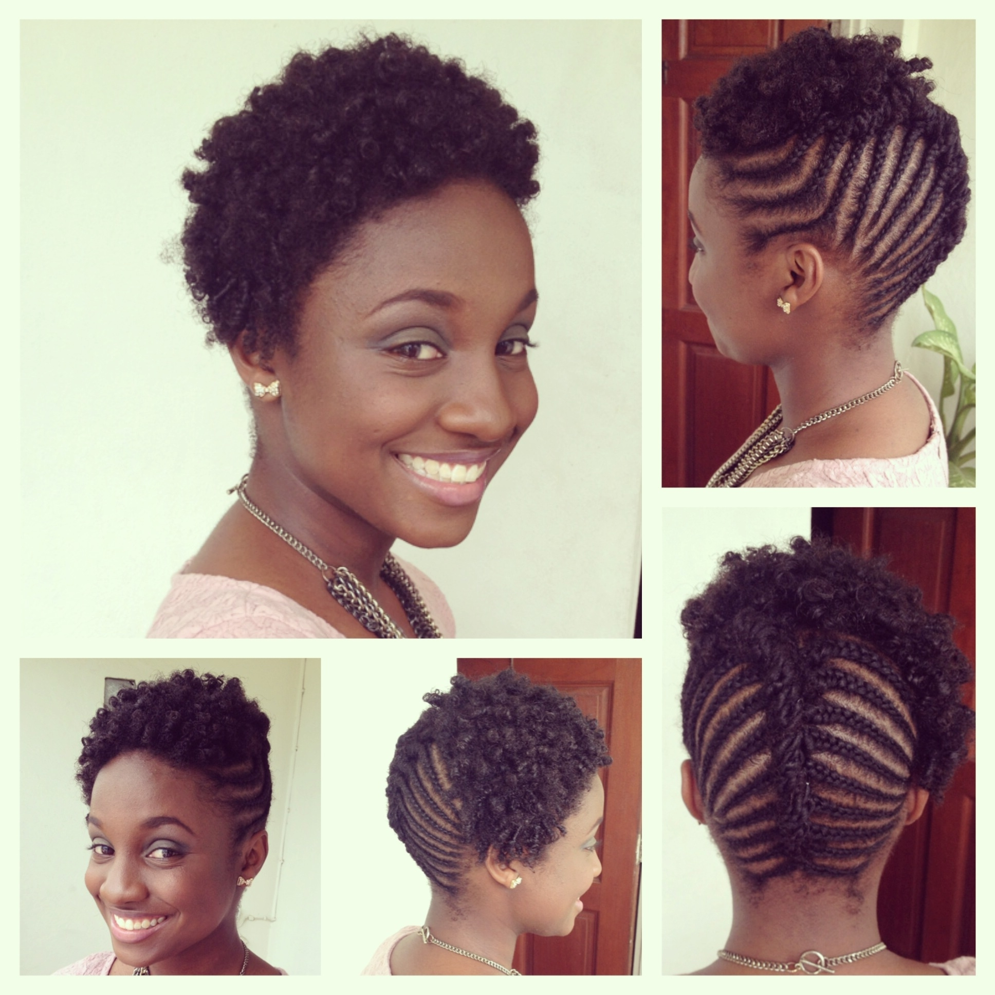 Awesome Collection Of Cornrow Afro Hairstyles Fancy Popular Cornrow In Preferred Cornrows Hairstyles With Afro (Gallery 7 of 15)