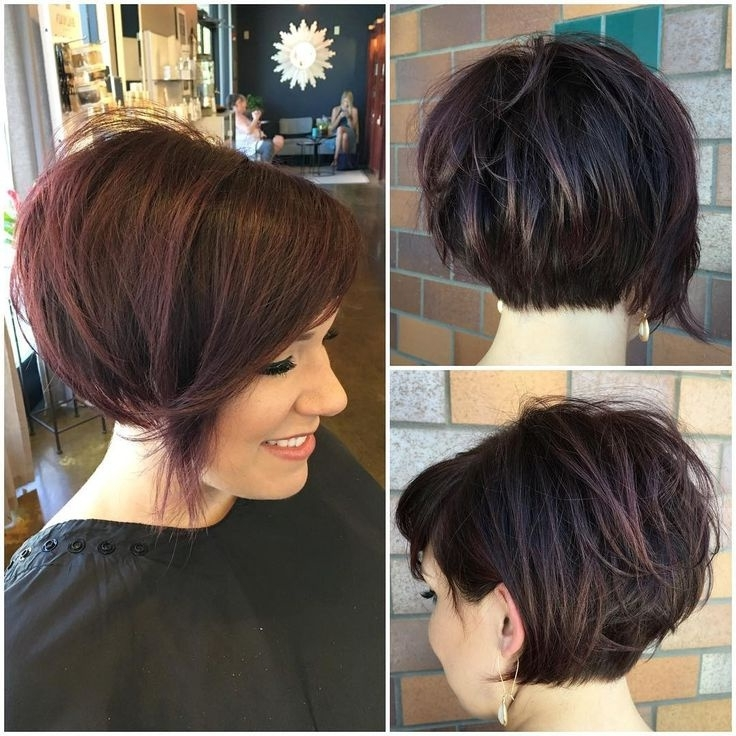 Awesome Short Stacked Pixie Haircuts – Hairstyles Ideas Within Most Recently Released Stacked Pixie Bob Haircuts With Long Bangs (Gallery 10 of 15)