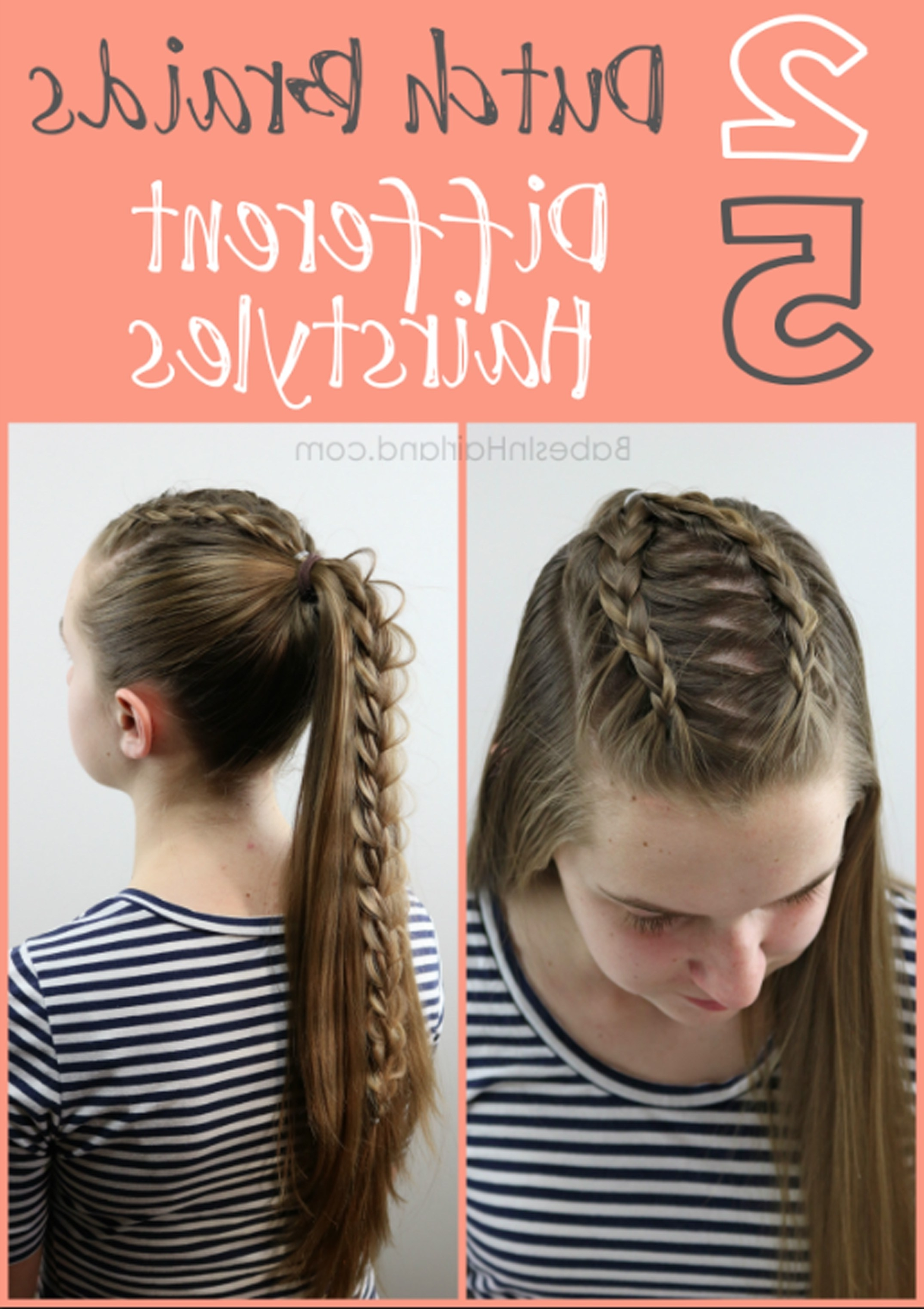 Babesinhairland Throughout Well Known Simple French Braids For Long Hair (View 5 of 15)