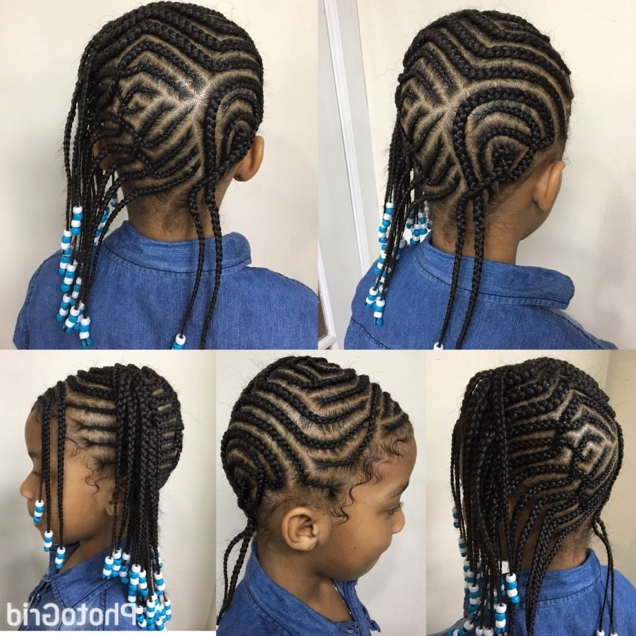 Back To School Box Braids With Side Cornrows Ideas Collection Inside Regarding Latest Cornrows Hairstyles For School (View 15 of 15)