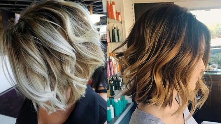 Balayage Short Bob Hairstyles & Haircuts For 2018 & Balayage Bob Throughout Well Known Balayage Pixie Haircuts With Tiered Layers (View 2 of 15)