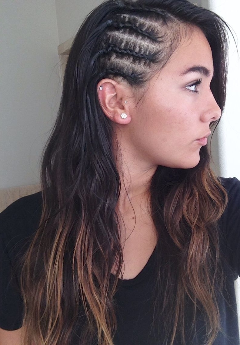 Beauty Obsessed Pertaining To Current Side Cornrows Hairstyles (View 7 of 15)