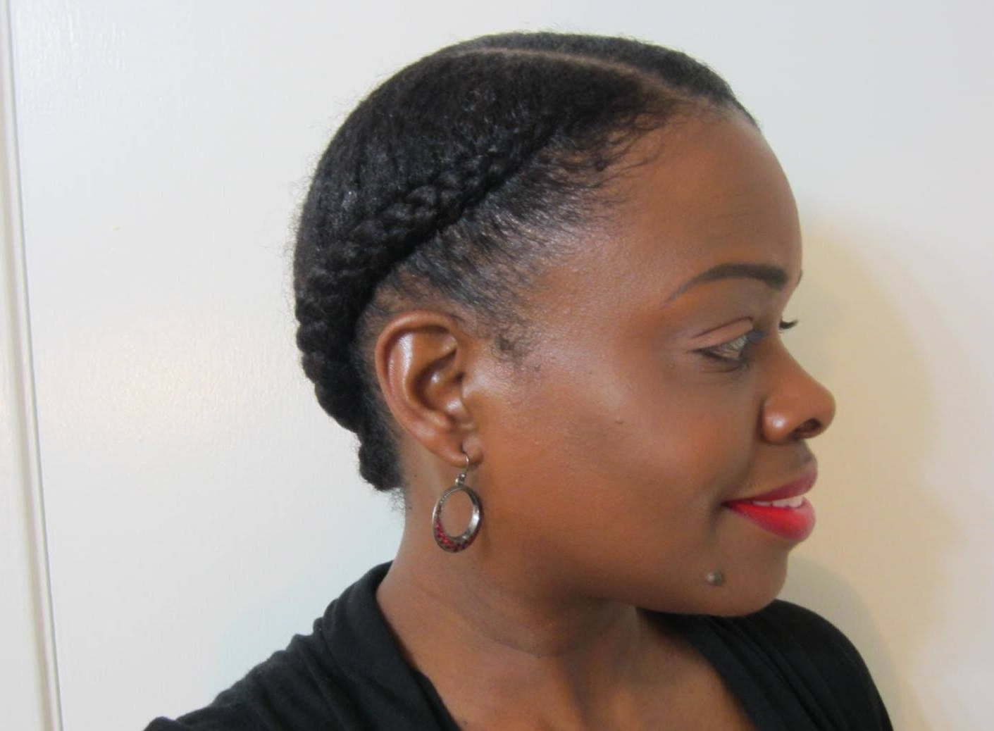 Best And Newest Braided Hairstyle With Jumbo French Braid With Protective Hairstyles For Natural Hair (View 15 of 15)