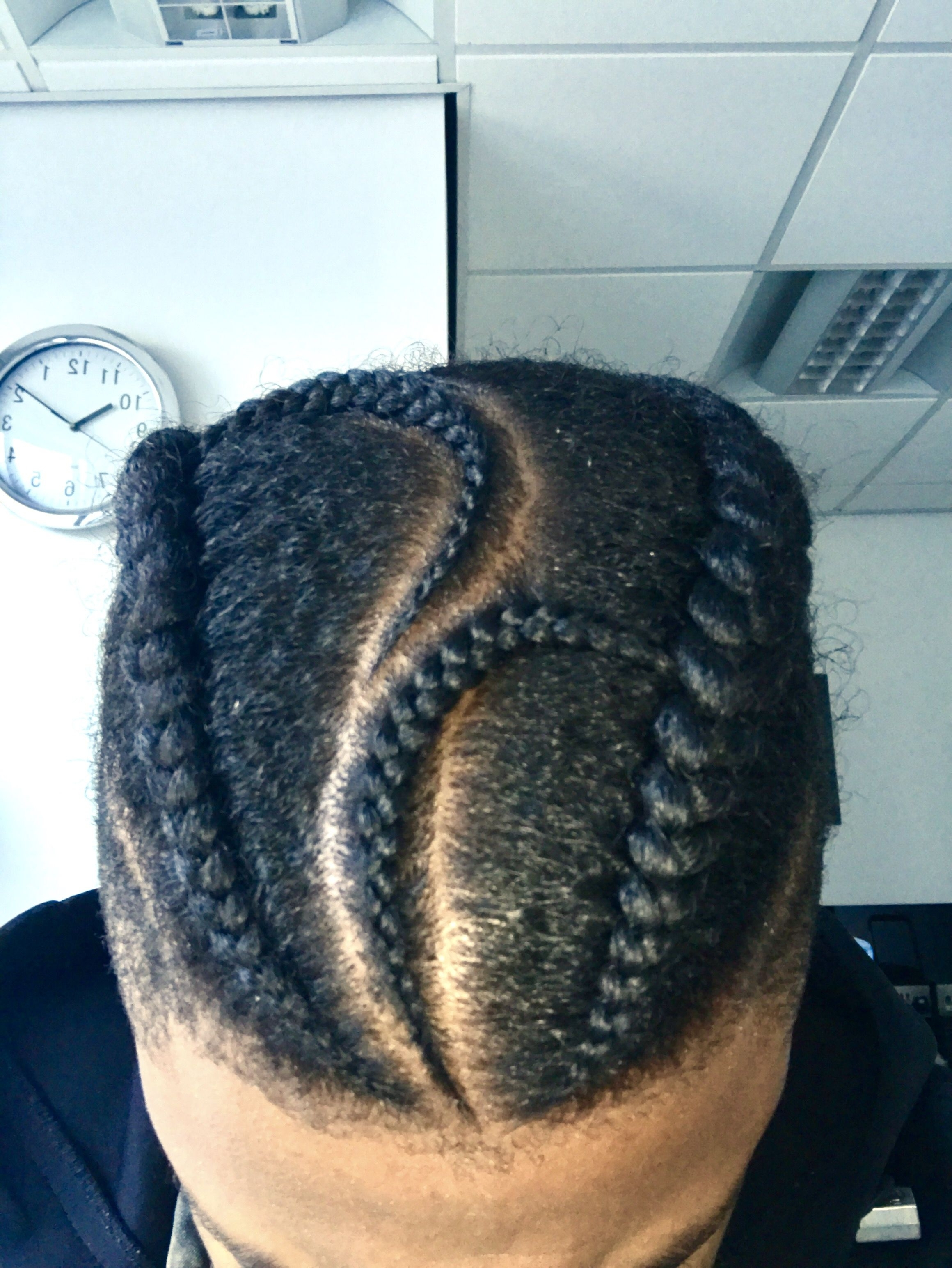 Best And Newest Cornrows Hairstyles For Guys With Ideas Of Braided Hairstyles For Males Cute Natural Man Hair Style (View 13 of 15)