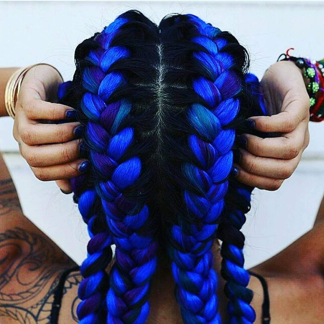 Best And Newest Cornrows Hairstyles With Color Within 30+ Cornrow Hairstyle Ideas, Designs (View 8 of 15)