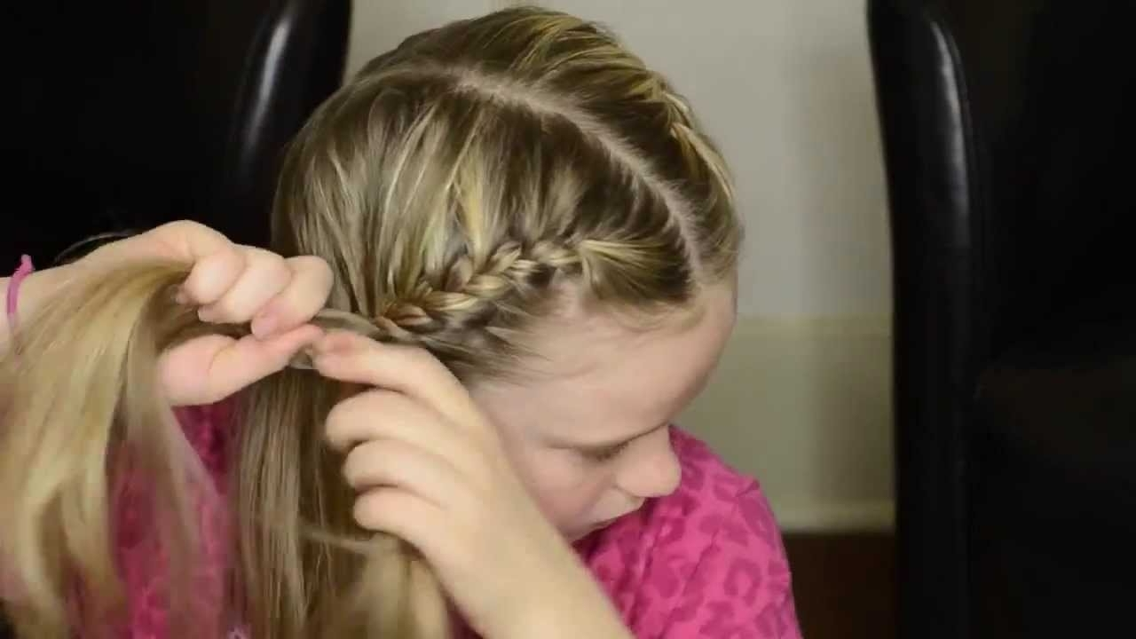 Best And Newest French Braids Into Pigtails With Regard To How To French Braid Your Own Hair Into Pigtails – Youtube (View 2 of 15)