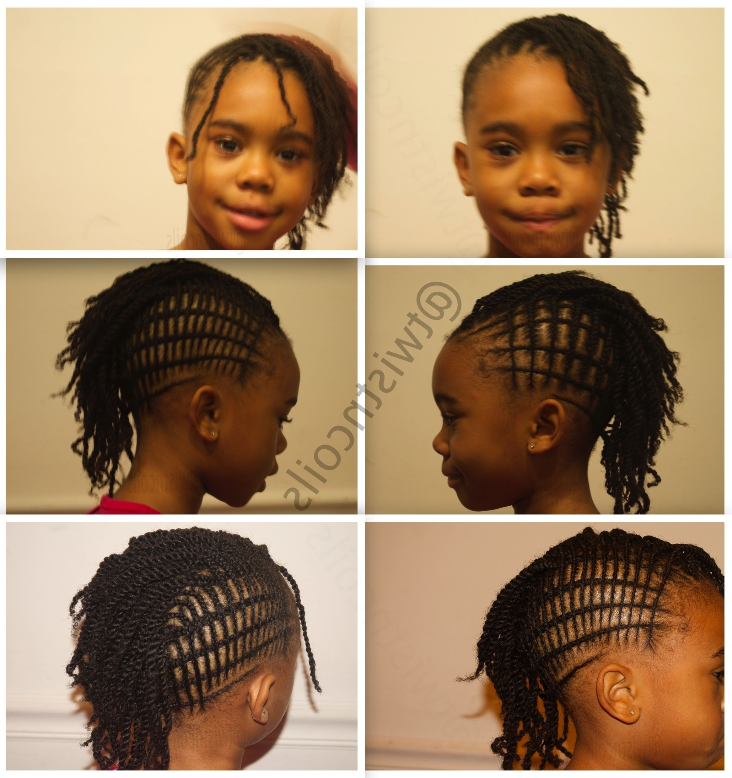 Best And Newest Mohawk With Criss Crossed Braids Intended For Interlaced (Criss Cross) Mohawk Design ~Tnc~ #kidsnaturalhair (View 2 of 15)