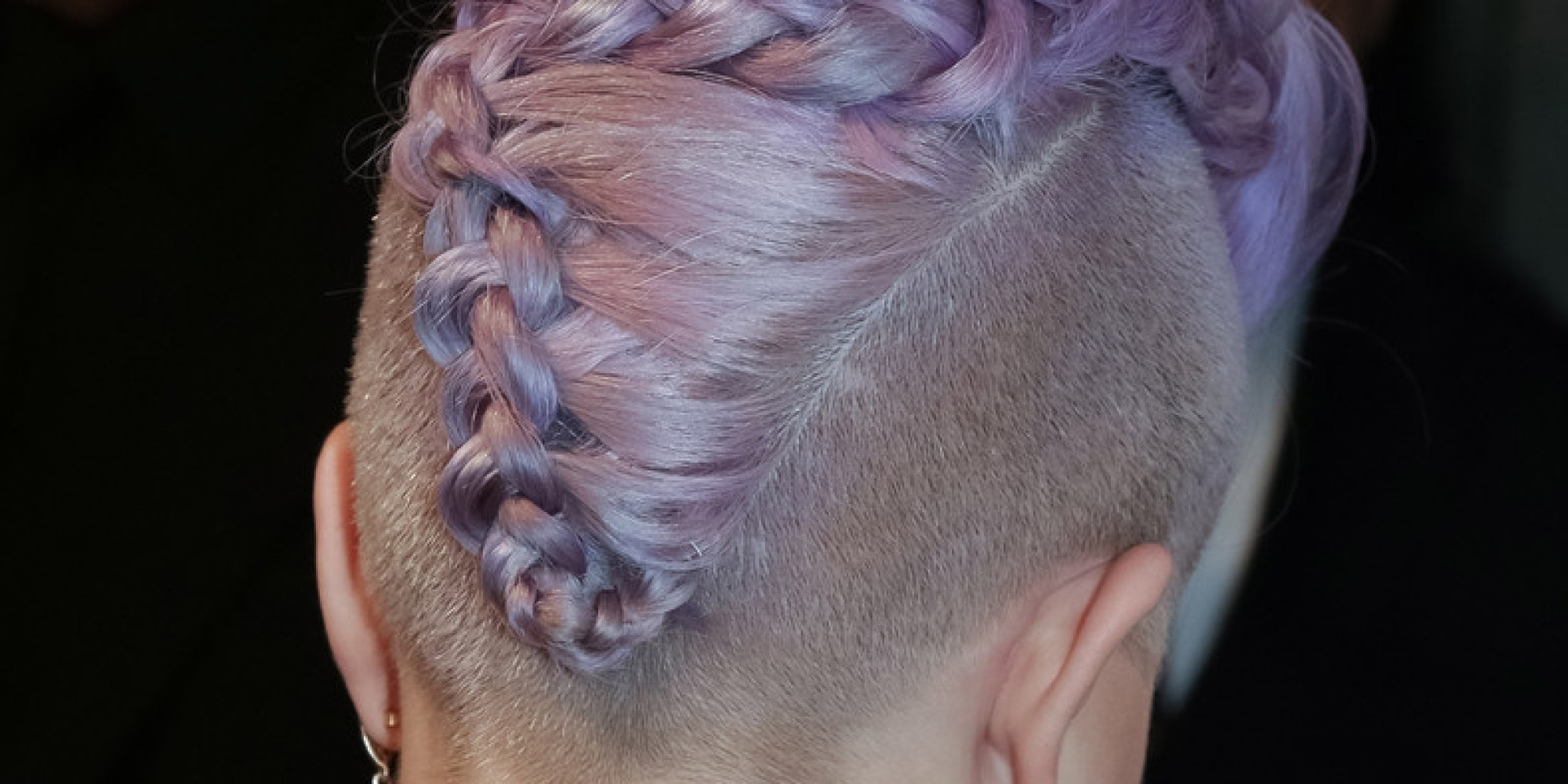 Best And Newest Pinned Up French Plaits Hairstyles Within 15 Photos That'll Make You Want To Wear French Braids Every Day (View 4 of 15)