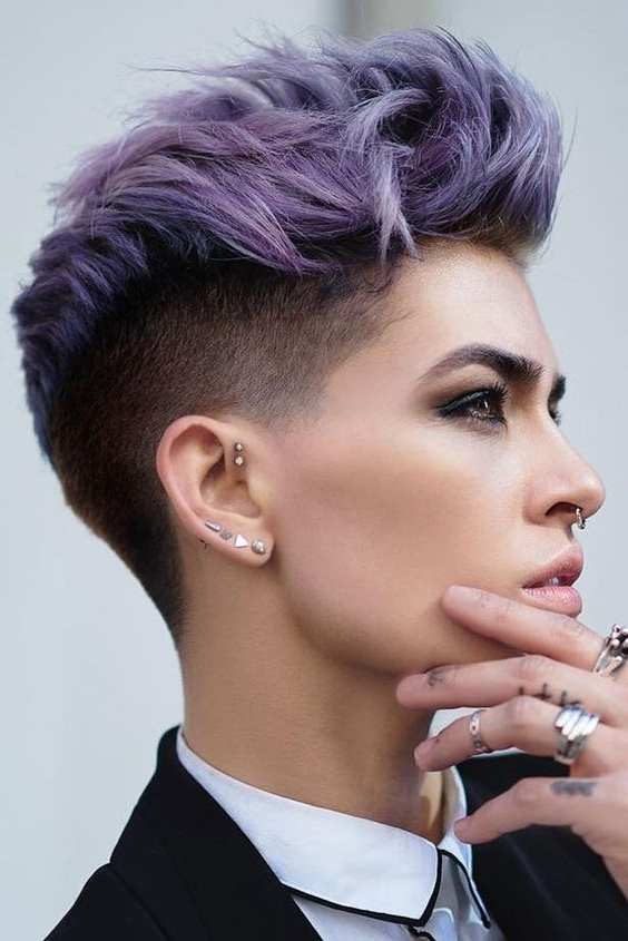 Best And Newest Tousled Pixie With Undercut Within 30 Perfect Pixie Haircuts For Chic Short Haired Women (View 4 of 15)