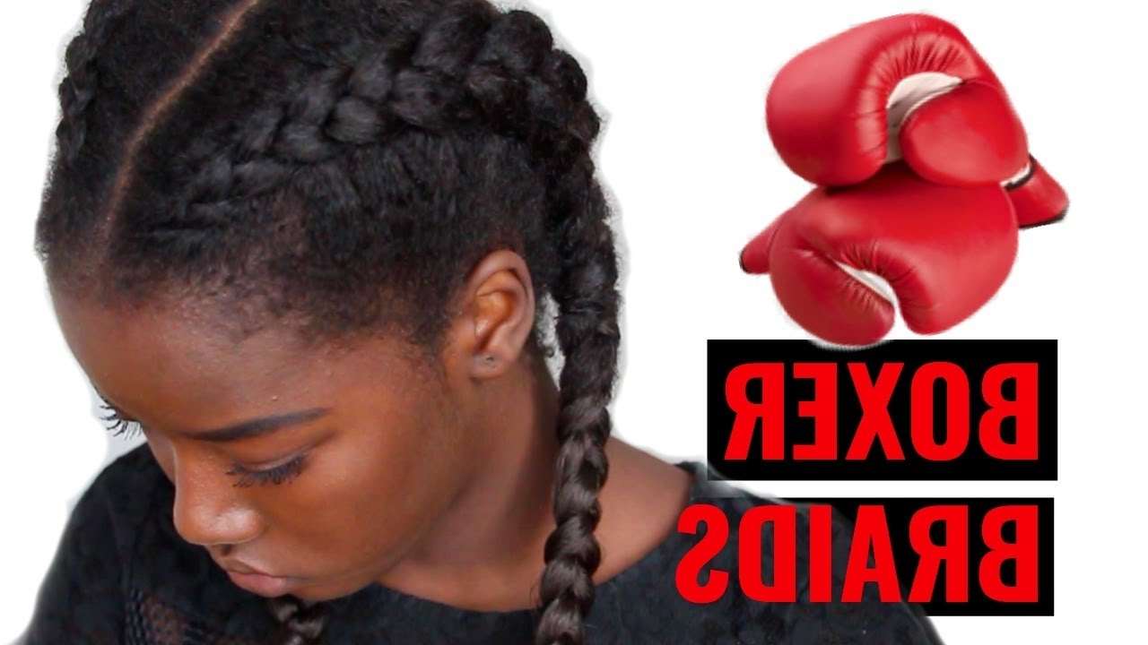Best And Newest Two Cornrow Boxer Braids For Two Cornrows Braids Or Boxer Braids (View 3 of 15)