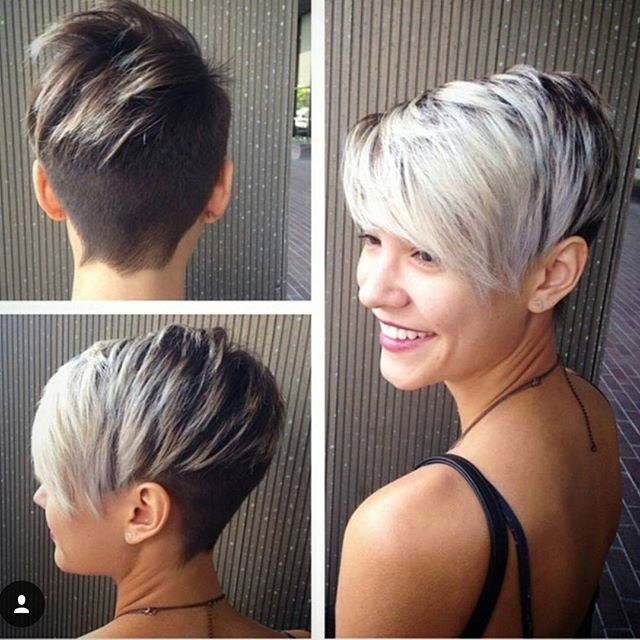 Best And Newest Two Tone Pixie Haircuts Within Two Tone Pixie Haircut For Short Hair ~ Hair Jo (View 5 of 15)