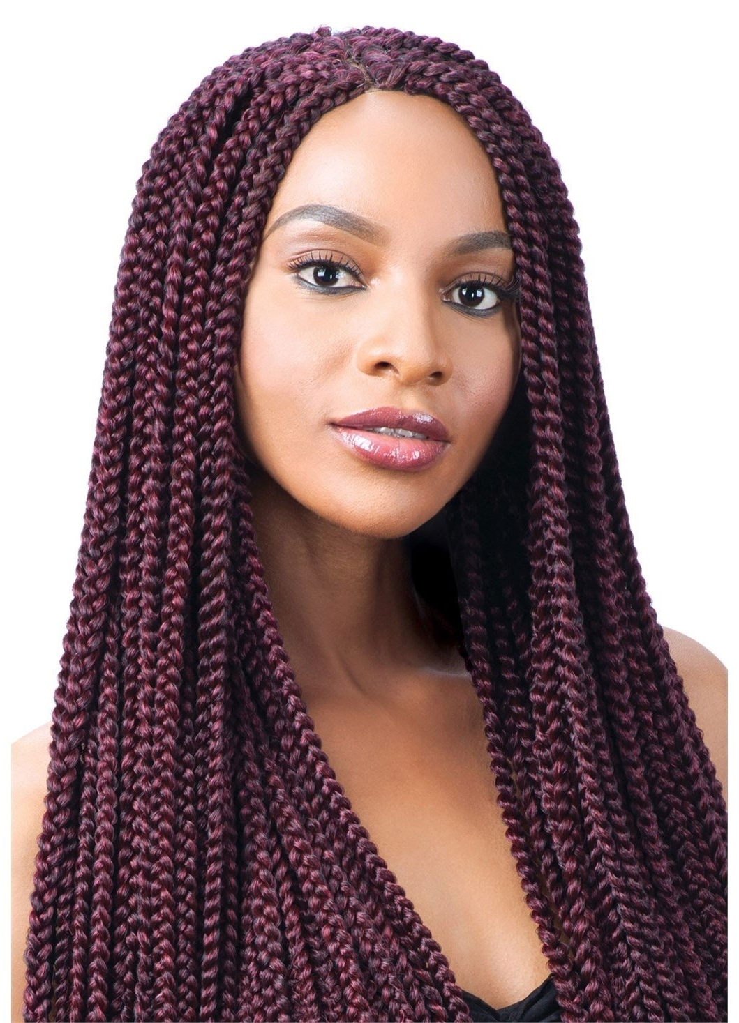 Best Braids For Afro Hair, Top Afro Hairdressers, Edmonton With Famous Long Braids For Black Hair (View 4 of 15)