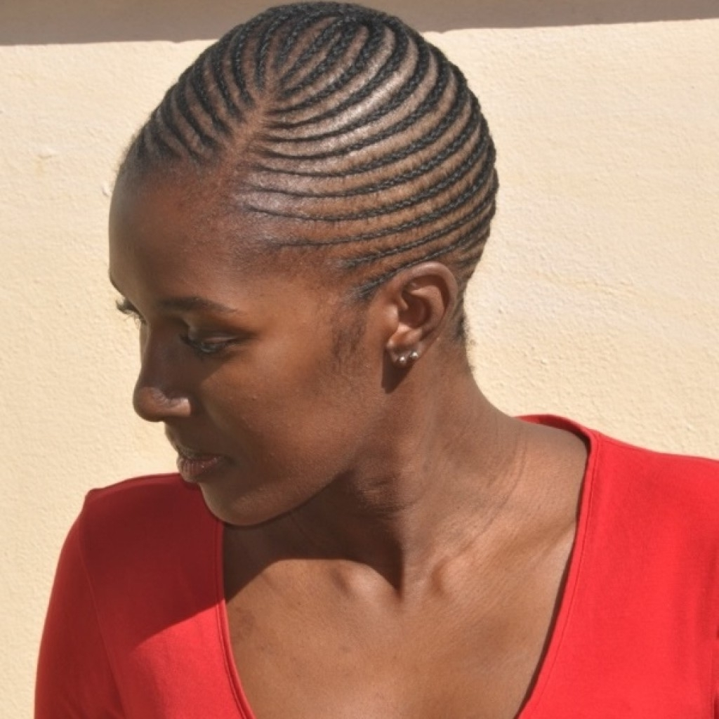 Best Cornrow Hairstyles African Cornrows (View 4 of 15)