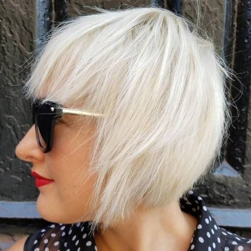 Best Ideas About Short Fine Hairstyles Pixie Cut For Short Hair Inside 2018 Side Parted Blonde Balayage Pixie Haircuts (View 4 of 15)