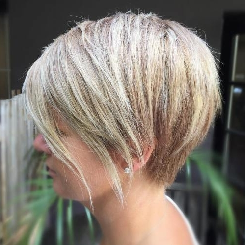 Best Short Bob Haircut Ideas In 2017 – Best Beauty Design For Women For Recent Angled Pixie Bob Haircuts With Layers (View 11 of 15)