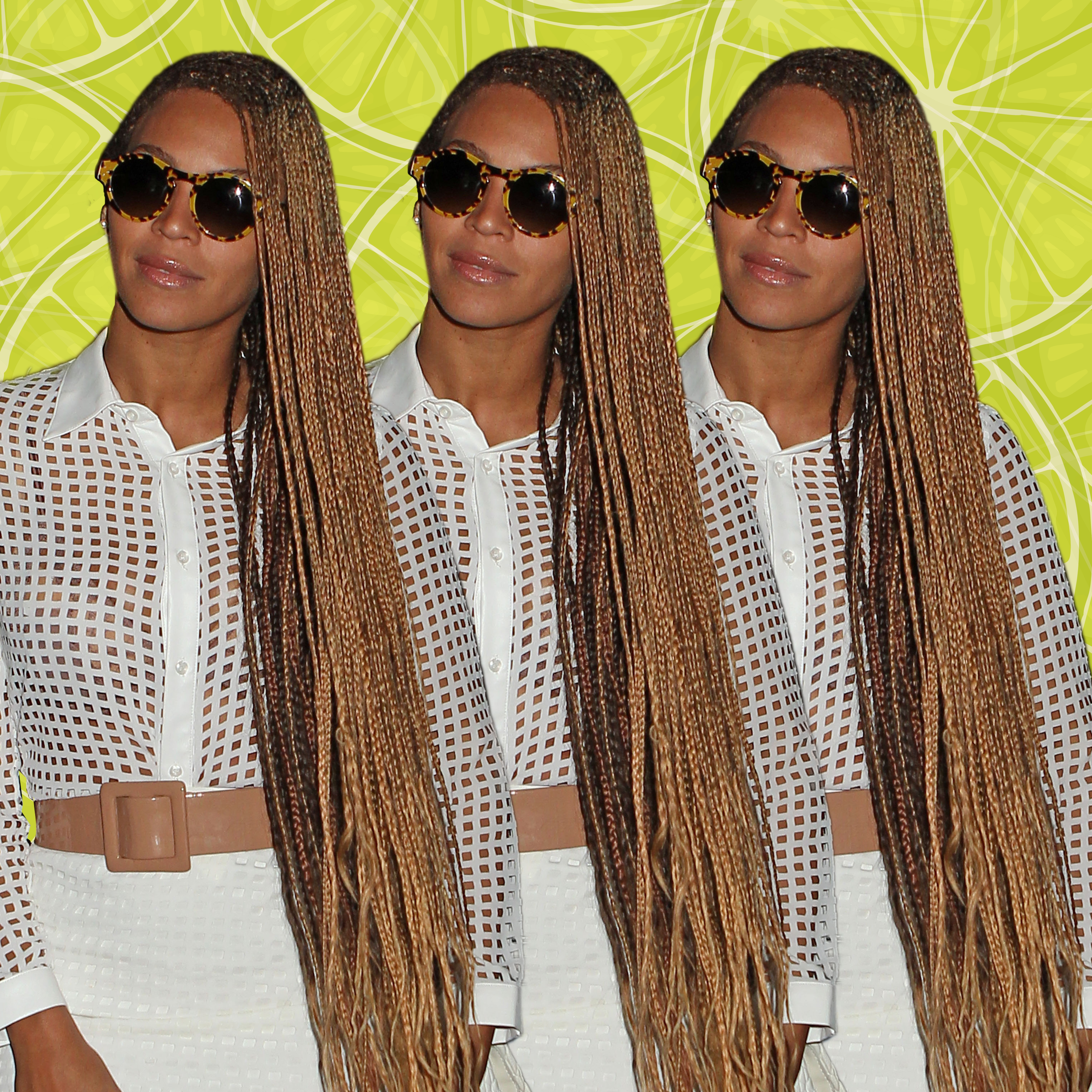 Beyonce Braid Hairstyles – Essence With Preferred Cornrows Hairstyles With White Color (View 1 of 15)