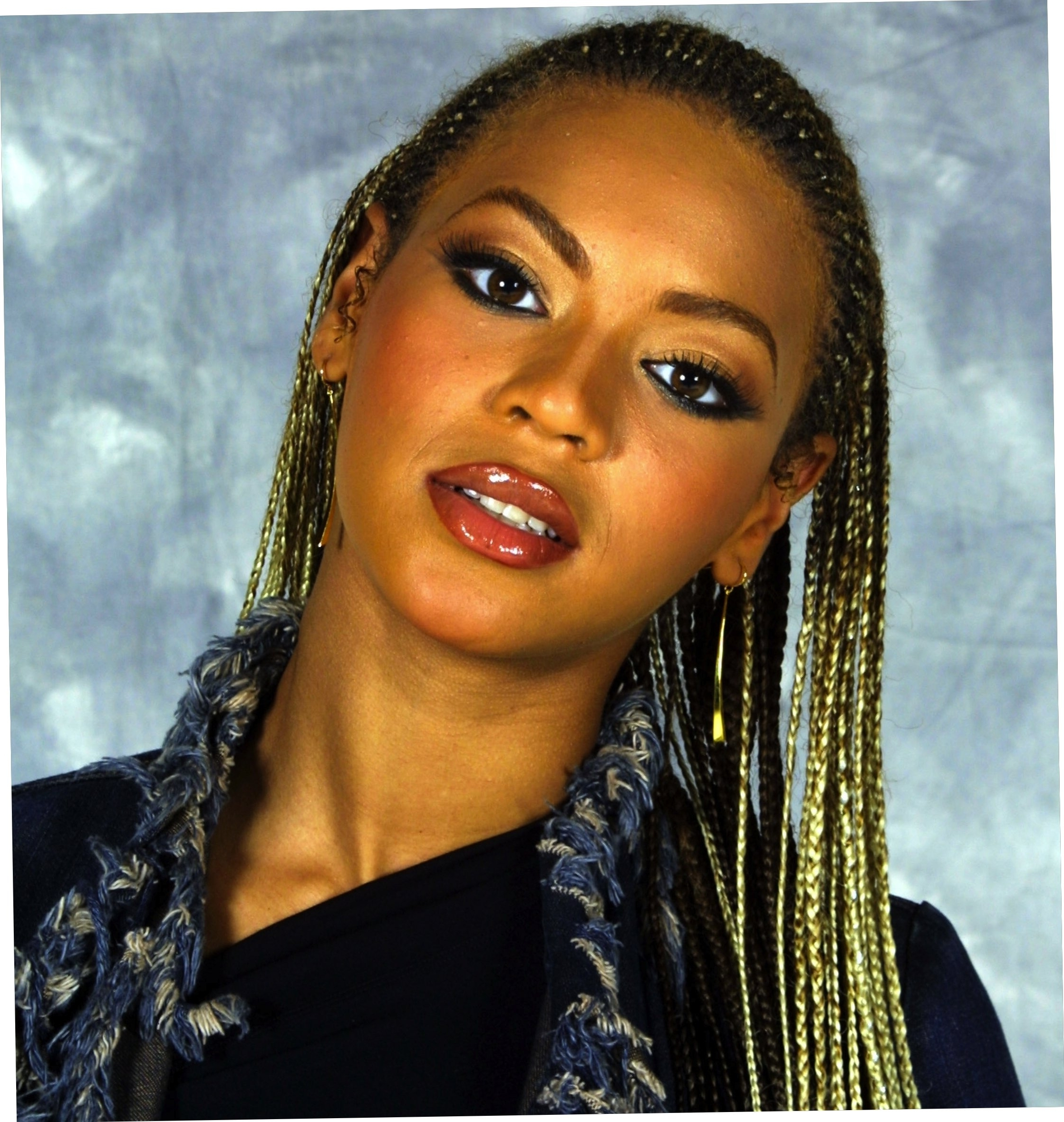 Beyonce Side Cornrows  Natural Hairstyles – Straightuphairstyle Inside Well Known Side Cornrows Hairstyles (View 7 of 15)