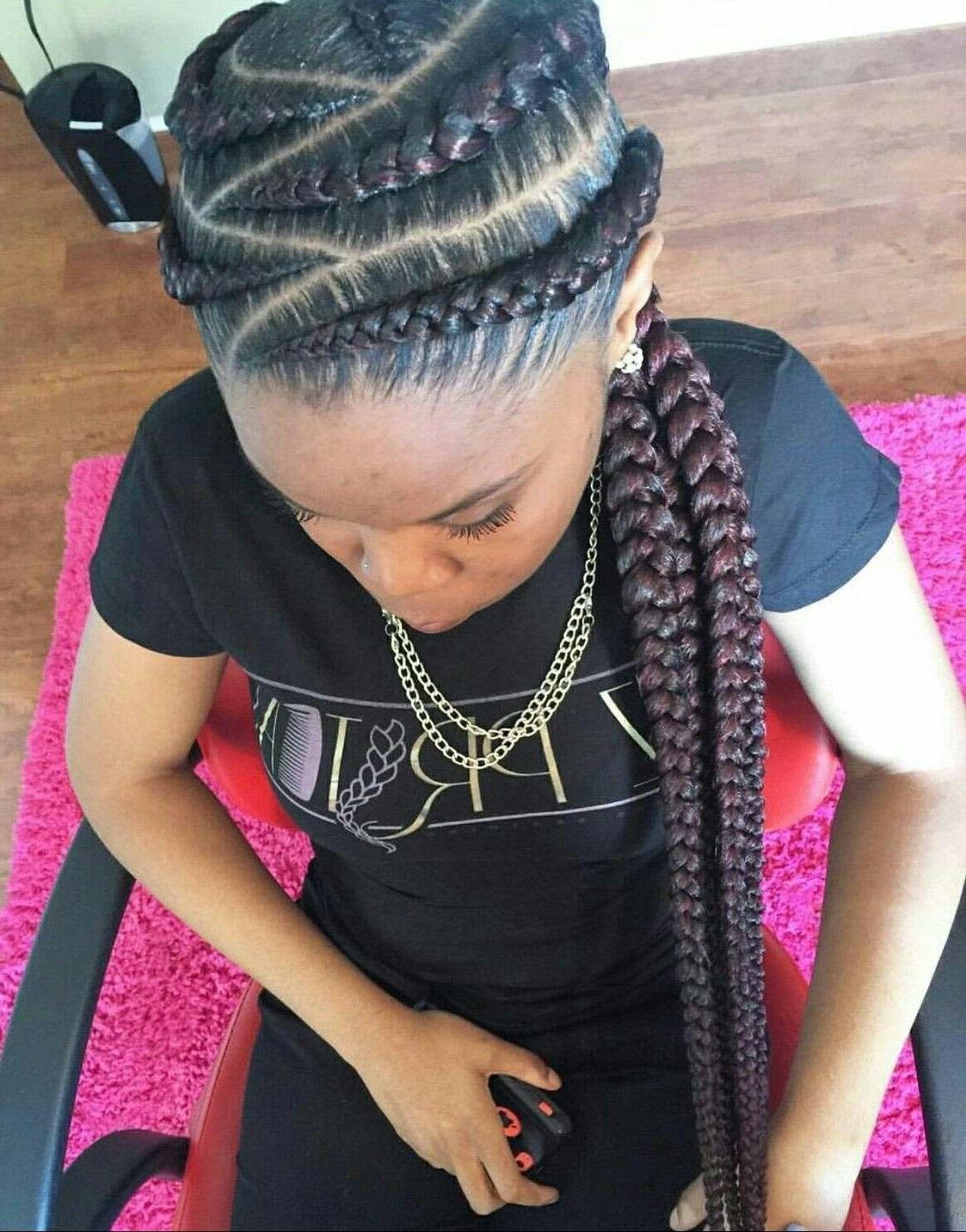 Black Girl Braids (View 3 of 15)