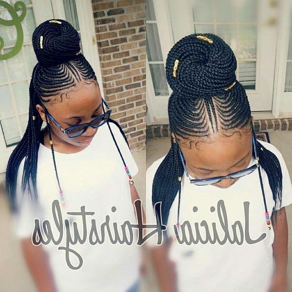 Black Girl Braids, Black Pertaining To 2017 Jalicia Cornrows Hairstyles (View 3 of 15)