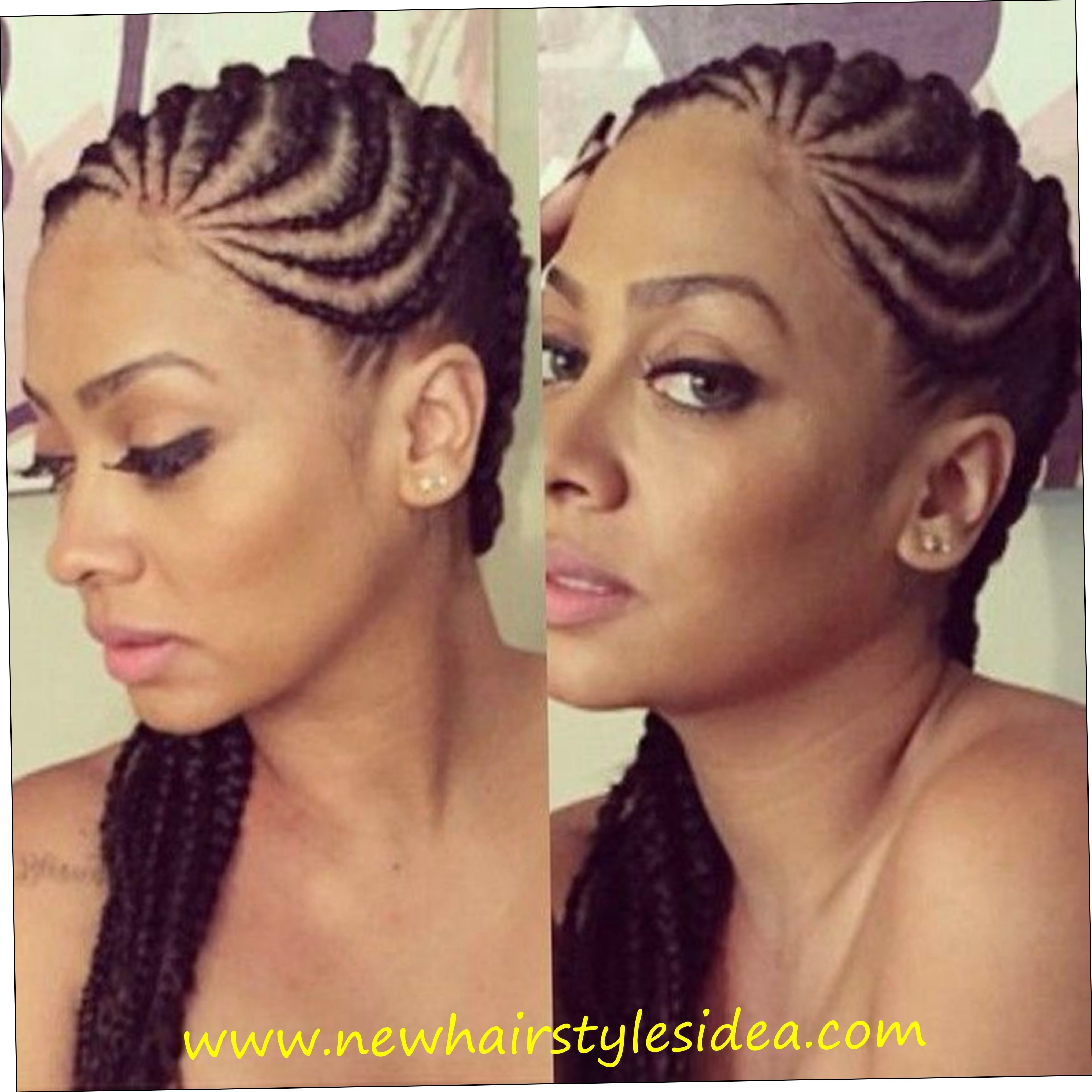 Black Girl Cornrow Hairstyles Cornrows Hairstyles For Women 2016 Throughout Current Cornrows Hairstyles For Ladies (View 5 of 15)