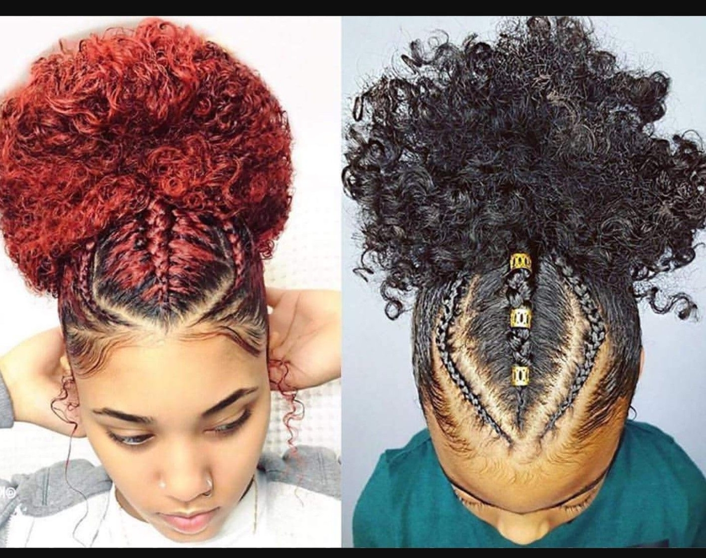 Black Girls Hairstyles With Regard To Best And Newest Cornrows Hairstyles For Natural African Hair (View 1 of 15)