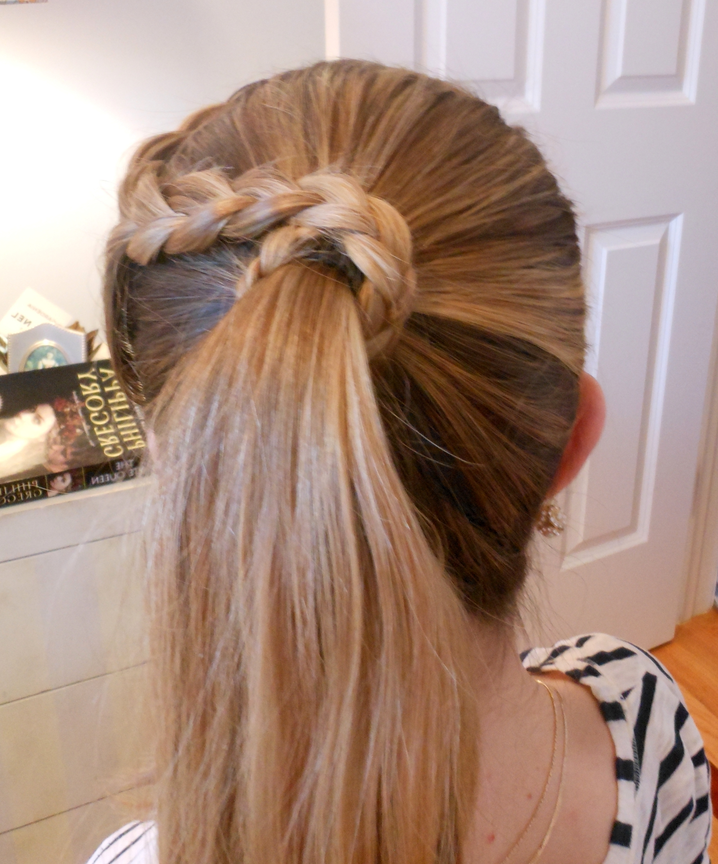 Boardroom To Intended For Most Popular Two Tone Braided Pony Hairstyles (View 4 of 15)