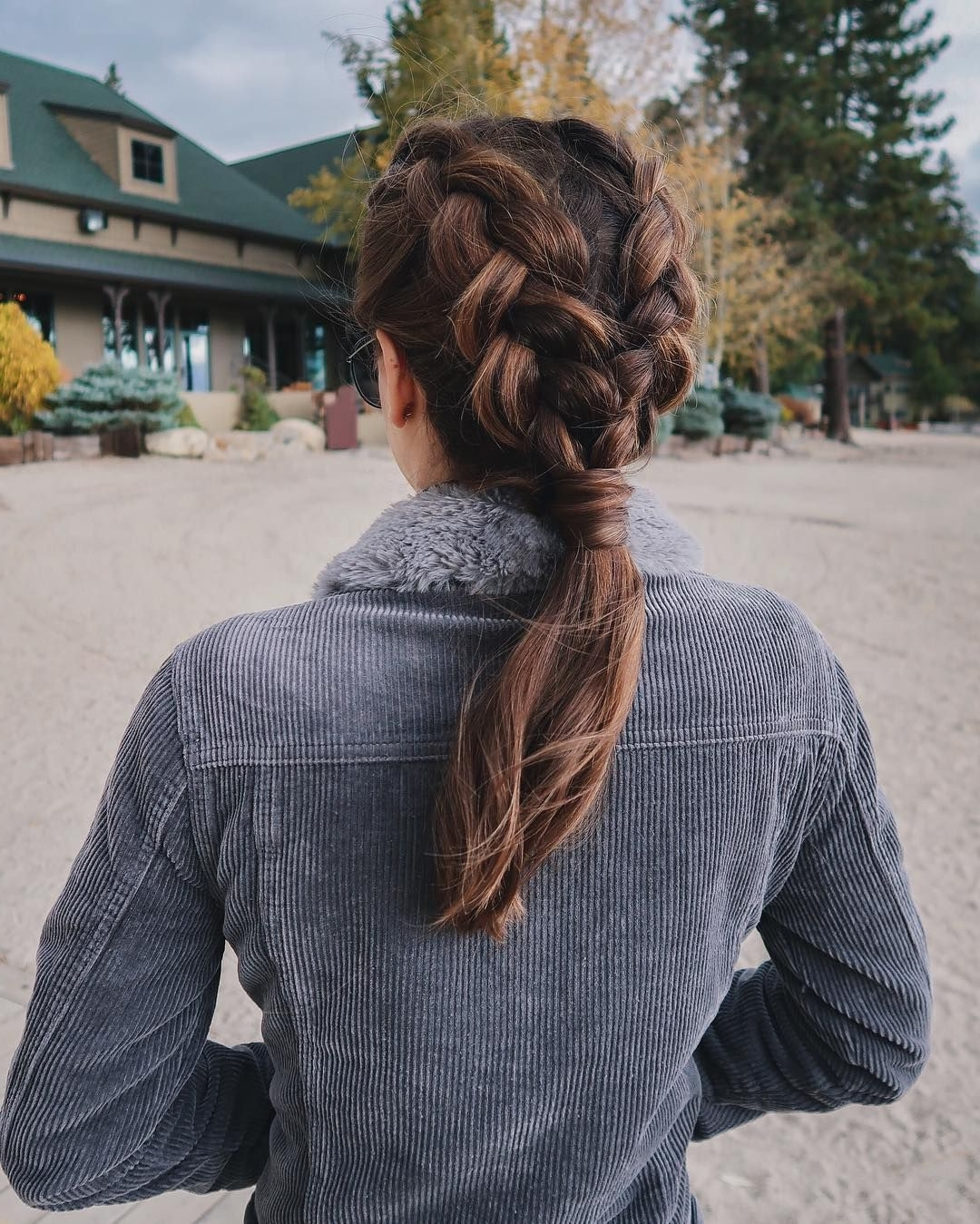 Boxer Braid Ponytail On Nichole Ciotti (View 14 of 15)