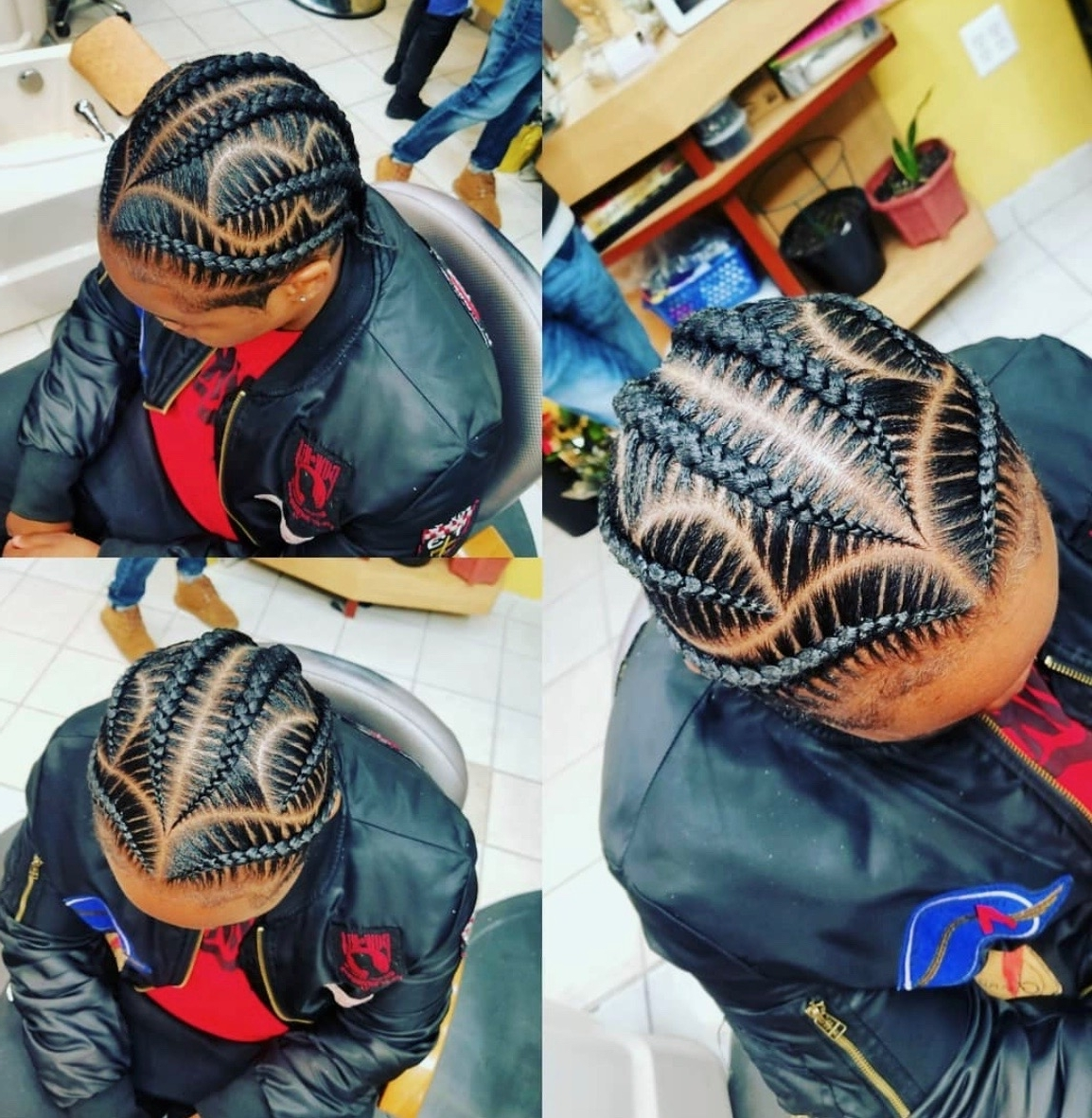 Braid Hairstyles 2018 – 40 Ghana Braid, Box Braid, Goddess Braid With Well Known Feed In Braids Hairstyles (View 4 of 15)