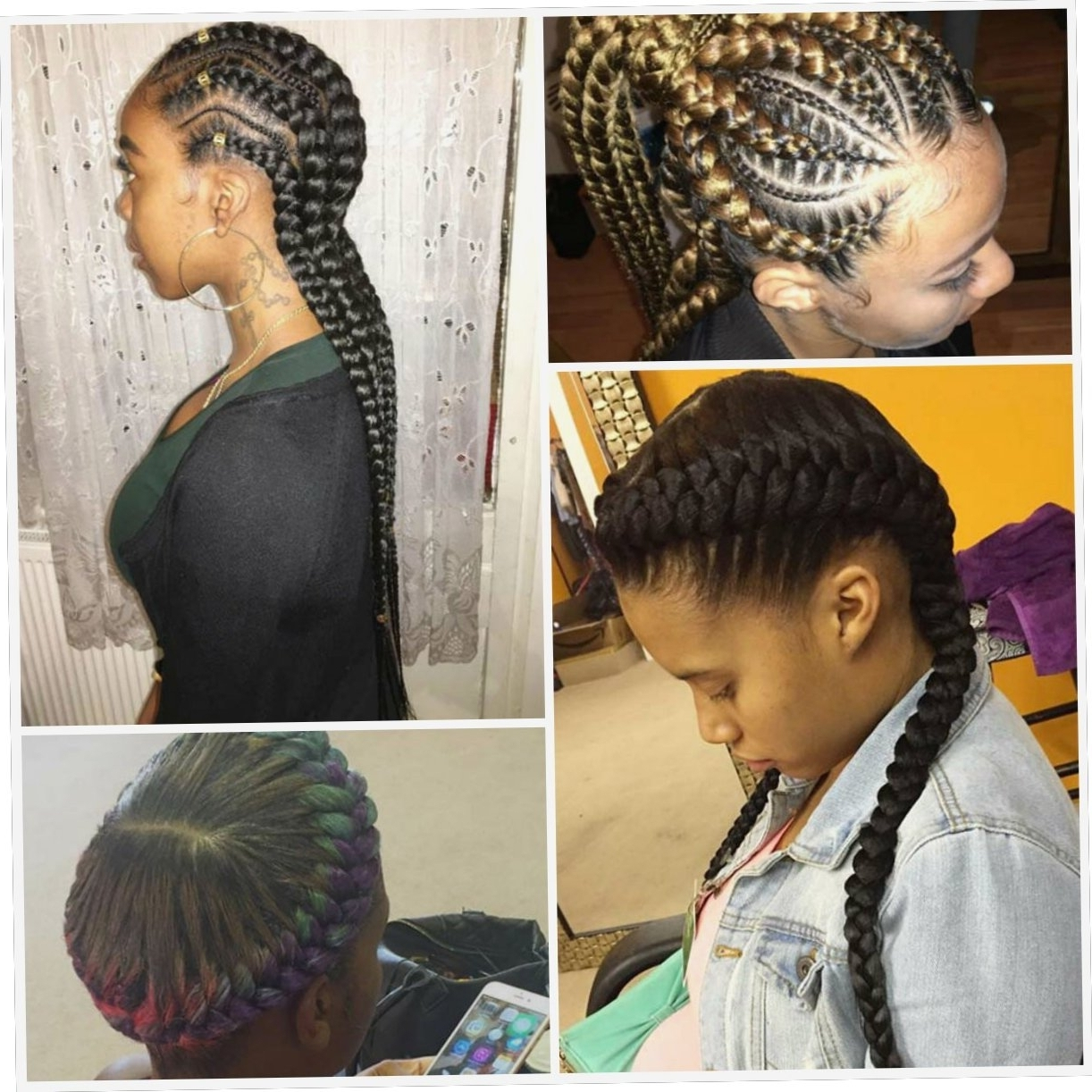 Braid Hairstyles : Creative Braided Cornrow Hairstyles Download Intended For Popular Creative Cornrows Hairstyles (View 4 of 15)