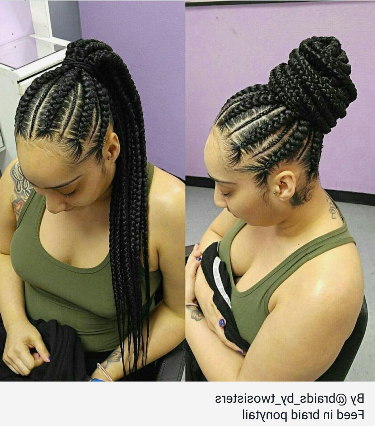Braid Hairstyles : Creative Cornrow Braided Updo Hairstyles You For 2017 Cornrow Updo Braid Hairstyles (View 6 of 15)